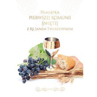 Pamiątka Pierwszej Komunii Świętej z ks. Janem Twardowskim