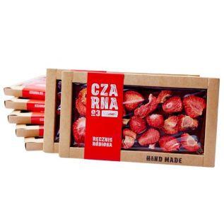 Czekolada CZARNA deserowa truskawka 105g HANDMADE