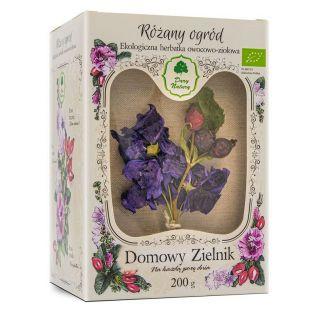 Domowy Zielnik - Herbatka Różany Ogród EKO 200g - Dary Natury