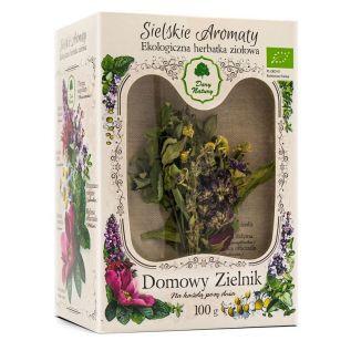 Domowy Zielnik - Herbatka Sielskie Aromaty EKO 100g - Dary Natury