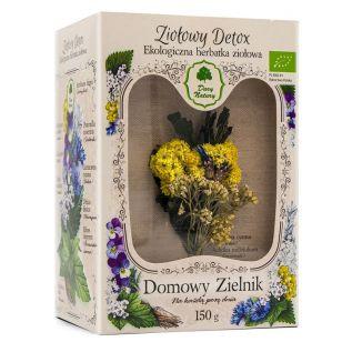 Domowy Zielnik - Herbatka Ziołowy Detox EKO 150g - Dary Natury