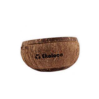 Naturalna miska z łupiny kokosa - grawer Ekoloco