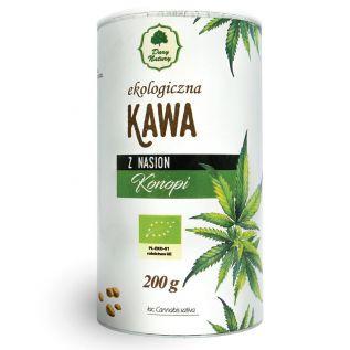 Ekologiczna kawa z nasion konopi 200g - Dary Natury