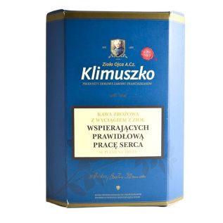 Kawa zbożowo-ziołowa WSPIERAJĄCA PRWIDŁOWĄ PRACĘ SERCA 200g - Klimuszko