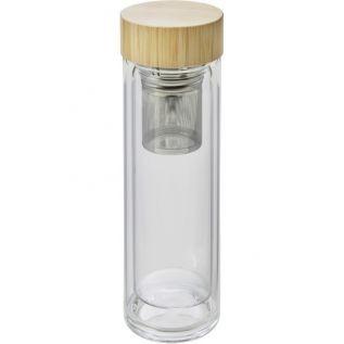 Kubek termiczny 420 ml termos ze szkła