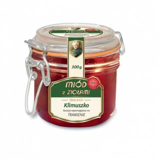 Miód z ziołami na TRAWIENIE 300g - Klimuszko