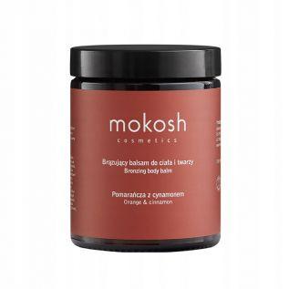 MOKOSH balsam brązujący do ciała i twarzy POMARAŃCZA Z CYNAMONEM 180 ml