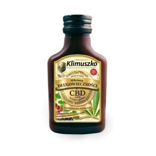 Nalewka-mikstura Długowieczności z CBD 100 ml - Klimuszko