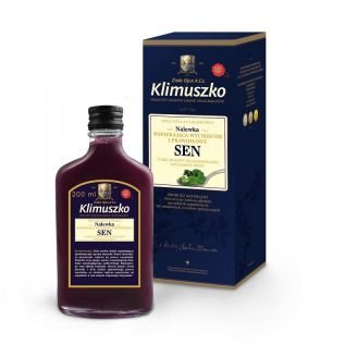 Nalewka Wspierająca wyciszenie i prawidłowy Sen 200 ml - Klimuszko