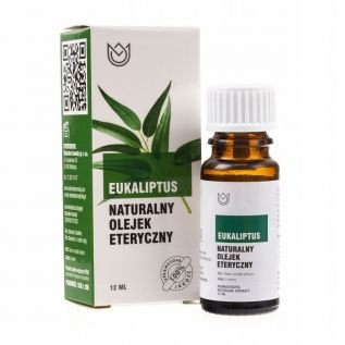 Olejek eteryczny 100% naturalny 12ml EUKALIPTUS