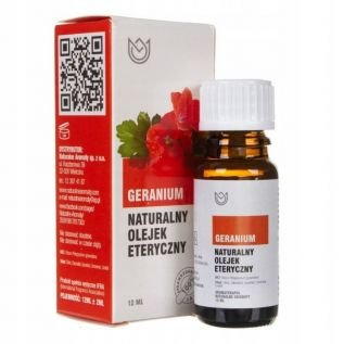 Olejek eteryczny 100% naturalny GERANIUM 12ml