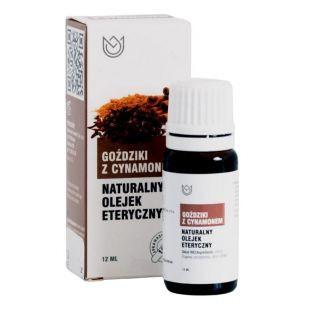 Olejek eteryczny 100% naturalny GOŹDZIKI Z CYNAMONEM 12ml