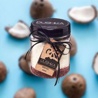 DUSHKA Gumowy peeling - Kokos