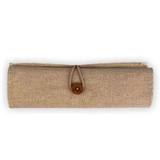 Piórnik | Zestaw szkolny w bawełnianym etui