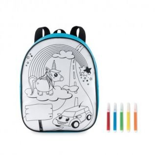 Kolorowanka dla dzieci - plecak do kolorowania z mazakami UNICORN