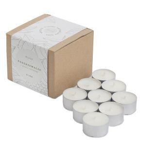 Podgrzewacz/tealight z wosku sojowego do kominka 10 sztuk