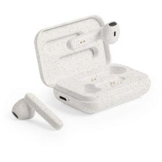 Słuchawki bezprzewodowe ze słomy pszenicznej EKO