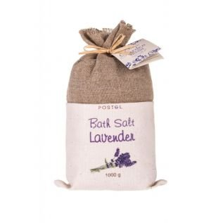 Sól do kąpieli LAWENDA 1kg