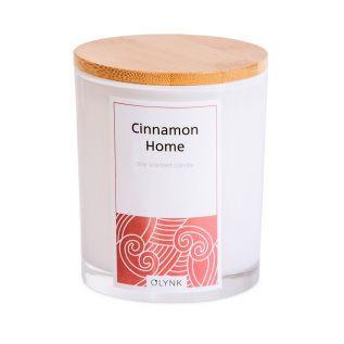 Świeca sojowa w szkle CYNAMON 300ml