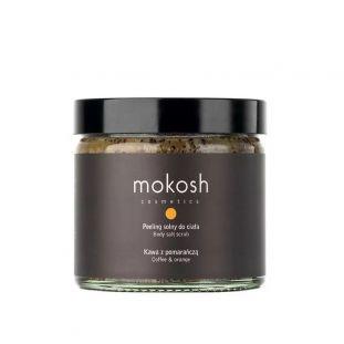 MOKOSH peeling solny do ciała KAWA Z POMARAŃCZĄ 300 g